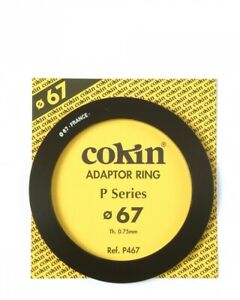Genuine Cokin P467 adapter ring 67mm for P Serie filters