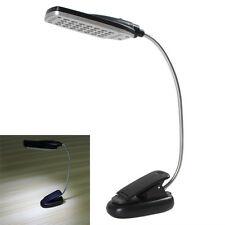 Practical USB / Battery Power 28 LED Light Clip-on Bed / Table / Desk Lamp Light