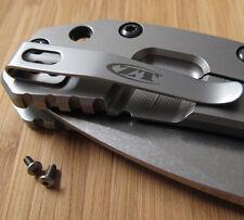 Zero Tolerance ZT0550 550 560 ZT Knife Replacement Titanium Torx T6 Screws Set