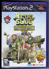 PS2 metal slug anthology (2007), Regno Unito PAL, Nuovo di Zecca & Sony Sigillato in Fabbrica