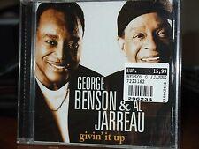 GEORGE BENSON & AL JARREAU Givin' it Up CD NUOVO SIGILLATO!!!