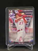 2018 Topps Salute Mike Trout Mothers Day Pink TS-59