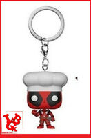 DEADPOOL Porte Clés CUISTOT OFFICIEL Mini Fig Mystery BobbleHead pop FUNKO NEUF