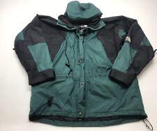 VTG The North Face Men Jacket Large Goretex Green Black 90's