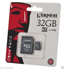 KINGSTON Micro SDHC 32 GB Memory Card Incl. Adapter class10 Flash Card 45MB/S