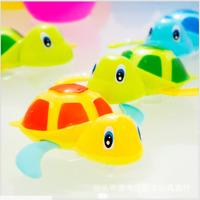 Baby Bath Toy Children Float Turtle Spring Toy Tub Faucet Kids Bathroom
