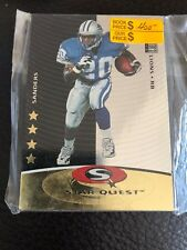 1997 Collector's Choice Star Quest Lions Football Sealed Card Set