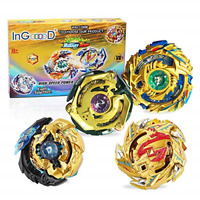 Ingooood Metal Master Fusion Gyro Toys for Kids, 4X High Performance Tops Attack