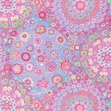 Kaffe Fassett Millefiore in Pink with Blue, & Green 100% Cotton Fabric - FQ