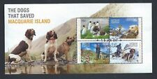 AUSTRALIAN ANTARCTIC TERRITORY THE DOGS THAT SAVED MACQURIE ISLAND (SG MS 245)