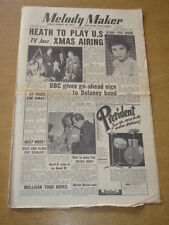 MELODY MAKER 1954 DECEMBER 4 TED HEATH MARION WILLIAMNS BBC FRANK WEIR +