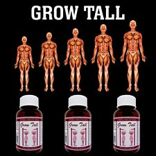 Do you want to be taller? - Gain Up To six Inches In Height safely - 3 bottles..