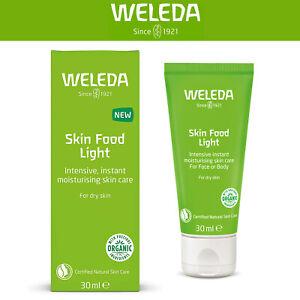 Weleda Skin Food LIGHT   30ml   for Dry Skin Intensive, Instant Moisturising