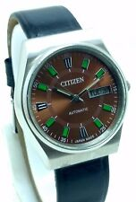 VINTAGE CITIZEN AUTOMATIC DAY&DATE WATCH WATER RESISTANT IN PERFECT CONDITION.
