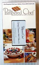 The Pampered Chef Kitchen Store Spring/Summer 2003 ~ Rare New VHS Movie Video