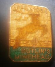 Butlins Minehead 1964 Pin Badge Replica