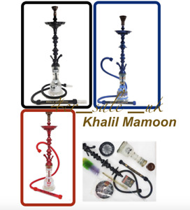 "Khalil Mamoon 31"" Inch Shareef Hookah Set Khalil Mamoon Shisha Hookah Pipe Base"
