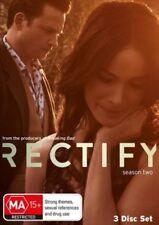 RECTIFY (COMPLETE SEASON 2 - DVD SET SEALED + FREE POST)