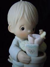 Precious Moments Porcelain Figure To A Special Mum #521965 Vessel  1990 MIBWT