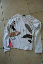 Tee-shirt blanc avec plumes CATIMINI 12 ans