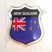 Sticker New Zealand Emblem 3D Resin Domed Gel New Zealand Flag Vinyl Decal Car