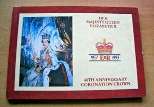 1993 40th ANNIVERSARY FAITH & TRUTH DECLARATION FIVE POUNDS £5 PRESENTATION PACK