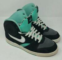 Nike RT1 High Black/Azure/Dark Grey Shoes retro Men's Size 11 #354034-011