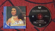 "ARETHA FRANKLIN ""Grandes Exitos"" BEST OF VERY RARE 2002 Spain CD"