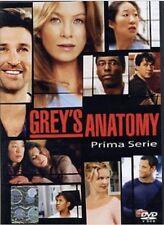 COFANETTO GREY'S ANATOMY  1° stagione completa in 2 dvd