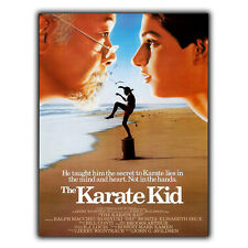 Karate Kid Film Movie METAL SIGN PLAQUE 80's Retro Advert Poster Print Man Cave