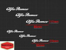 Adesivi Alfa Romeo 6 pezzi per pinze freno
