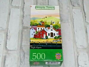 Master Pieces Simple Times High Flyers 500 Piece Jigsaw Puzzle