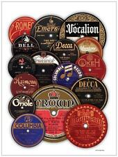 Spin Alley 78 Record Labels Poster