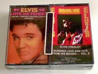 LOT/4 ELVIS PRESLEY CASSETTE TAPES GREATEST HITS Volume 2 New Sealed