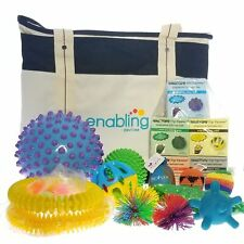 Enabling Devices Therapeutic Balls Kit Bag for Special Needs Students New