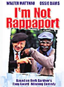 I'm Not Rappaport DVD * BRAND NEW * Matthau Davis * FREE SHIPPING!!!