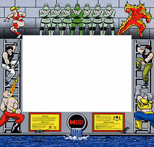 Bad Dudes Vs Dragon Ninja Arcade Monitor Bezel