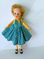 Vintage mid century Horsman doll w/orig. clothes eyes open close, lovely! 10 1/2