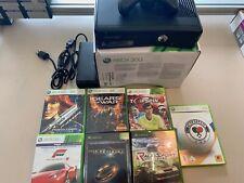 Xbox 360 - Konsole Slim 4 GB inkl. 7 Spiele !!!