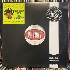 "JERU THE DAMAJA - YOU CAN'T STOP THE PROPHET (12"")  1994  DJ PREMIER + PETE ROCK"