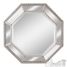 46152EC: FRIEDMAN BROTHERS Octogonal Multi Panel #6646 Silver Mirror ~ New