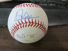 DICK ALLEN AUTOGRAPH / SIGNED BASEBALL MVP 1972 Chicago White Sox / PHILLIES