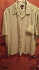 Men's Medium Short Sleeve Silk Shirt - Reunion