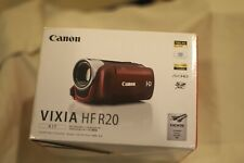 Canon VIXIA HF R20 (32 GB) High Definition Camcorder color Red