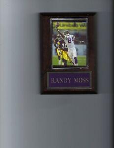 RANDY MOSS PLAQUE MINNESOTA VIKINGS FOOTBALL NFL