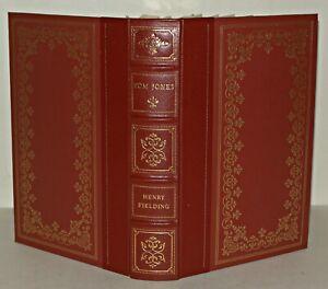 The History Of Tom Jones - Henry Fielding - Hardback , Franklin Library - 1980