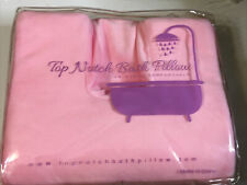 Luxury Spa Bath Pillow Pink *Read Info In Listing Details! Free Shipping!
