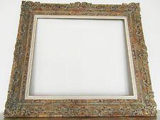 Grand cadre montparnasse début XXe. Feuill: 76  X  64,8 cm Frame cornice Rahmen