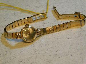 9ct gold ladies Eterna Bracelet Watch-Vintage! 17.01g