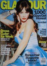 ZOOEY DESCHANEL February 2013 GLAMOUR Magazine